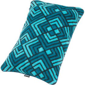 Rumpl Stuffable Pillow, turquoise/blauw